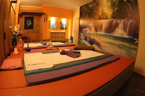 Paar Massage Zimmer